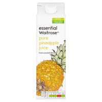 essential Waitrose pineapple juice