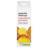 Essential Waitrose Tropical Fruit Juice Drink