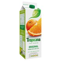 Tropicana orginal, with juicy bits