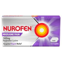 Nurofen 12 migraine pain tablets