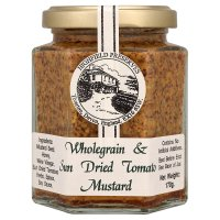 Highfield Preserves wholegrain & sun dried tomato mustard