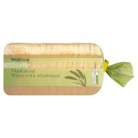 Waitrose white & wholegrain thick sliced bread