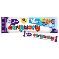 Cadbury Curly Wurly chocolate bar