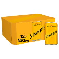 Schweppes tonic multipack cans