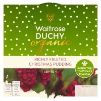 Duchy Originals from Waitrose organic Christmas pudding