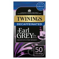 Twinings earl grey decaffeinated 50 tea bags