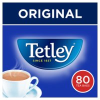 Tetley 80 tea bags