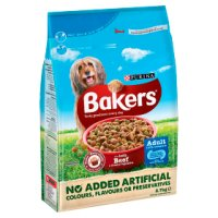 PURINA® BAKERS® Adult Beef and Vegetable Dry Dog Food