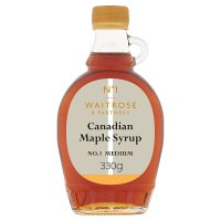 Waitrose Canadian Maple Syrup - Medium No. 1