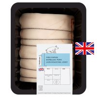 Waitrose boneless British free range pork loin roast