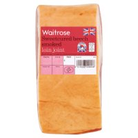 Waitrose beech smoked British gammon loin joint