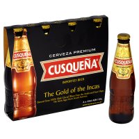 Cusqueña imported beer