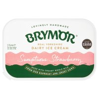 Brymor strawberry ice cream