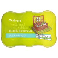 Waitrose cloudy lemonade light