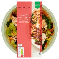 Waitrose chicken chow mein