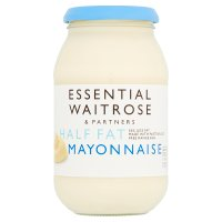essential Waitrose half fat mayonnaise