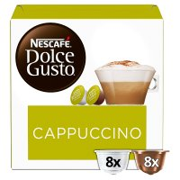 Nescafé Dolce Gusto cappuccino coffee pods 8 drinks