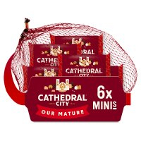 Cathedral City Mini's mature Cheddar cheese, 6 portions