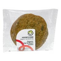 Honeyrose organic oat & raisin cookie