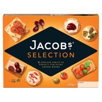 Jacob's biscuits for cheese selection