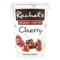 Rachel's organic low fat cherry yogurt