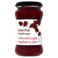 Waitrose reduced sugar raspberries jam