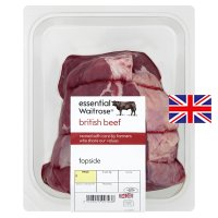 essential Waitrose British beef topside roast (medium)