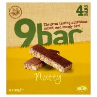 Wholebake nutty 9bar nut & seed bar