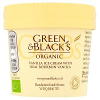 Green & Black's organic vanilla ice cream