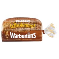Warburtons wholemeal sliced bread
