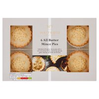 Waitrose all butter mince pies
