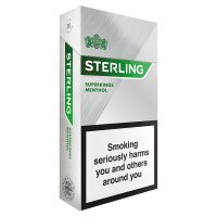 Sterling superkings menthol cigarettes
