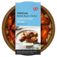Waitrose British Chinese style roast chicken wings