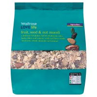 Waitrose LOVE life fruit, seed & nut muesli