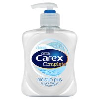 Carex moisture plus handwash