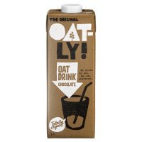 Oatly dairy-free chocolate oat drink