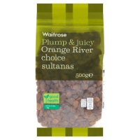 Waitrose sultanas orange river