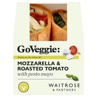 Waitrose mozzarella & roasted tomato wrap