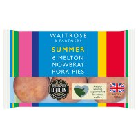Waitrose Melton Mowbray mini pork pies