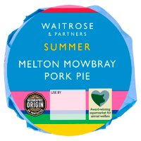 Waitrose Melton Mowbray medium pork pie