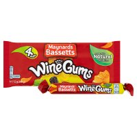 Maynards Bassetts Wine Gums sweets roll