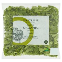 Waitrose Organic curly kale