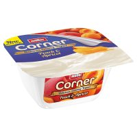 Müller Fruit Corner yogurt with peach & apricot