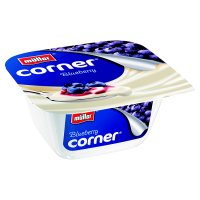 Müller Fruit Corner yogurt with blueberry