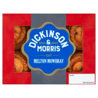 Dickinson & Morris mini Melton Mowbray pork pies