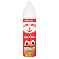 Anchor real dairy cream UHT aerosol