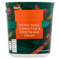 Waitrose Christmas Channel Island Cointreau cream