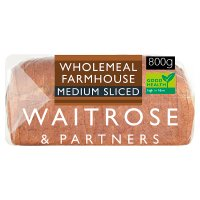 Waitrose LoveLife stoneground wholemeal medium sliced bread