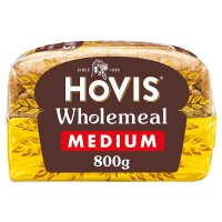 Hovis wholemeal bread medium sliced bread