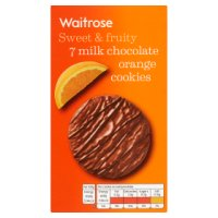 Waitrose chocolate chip & orange cookies